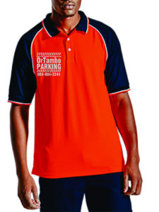OR Tambo Parking Services Uniform Shirt from Front
